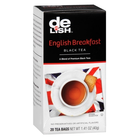 Good & Delish Black Tea Bags English Breakfast, 20 pk
