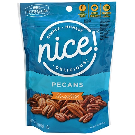 Nice! Pecans Halves & Pieces