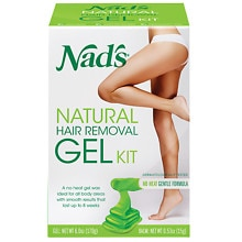 Nad's Natural Hair Remover Gel Kit