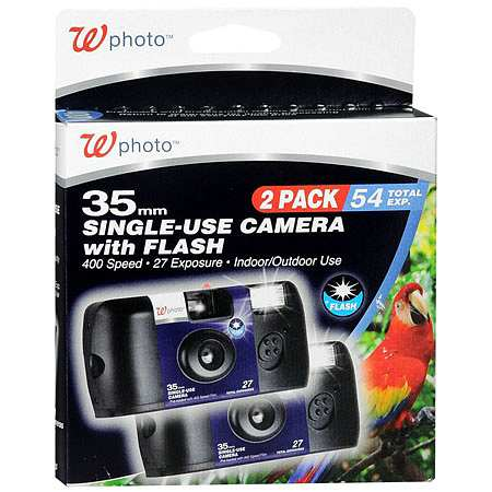 Walgreens Photo 35mm Single-Use Cameras