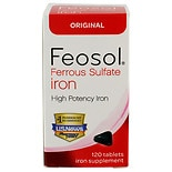 Feosol Iron Supplement Tablets