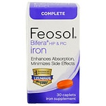 Feosol Bifera HIP & PIC Iron Supplement, Complete