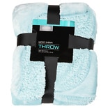 Sherpa Throw 50X60, Pattern Varies