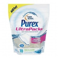 UltraPacks Liquid Laundry DetergentFree and Clear