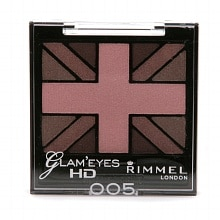 Rimmel Glam' Eyes HD Quad Eye Shadow Creamy Powder