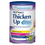 Resource ThickenUp Clear, 89 Servings Clear