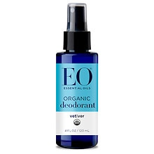 EO Organic Deodorant Spray Vetiver