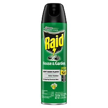 Raid House & Garden Bug Killer Formula 7 Spray