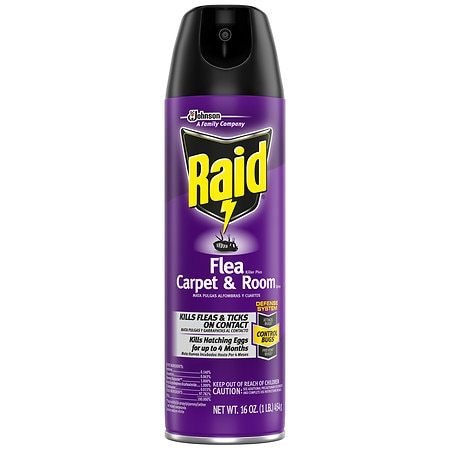 Raid Flea Killer Plus Carpet and Room Spray