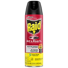 Raid Ant & Roach Spray Lemon