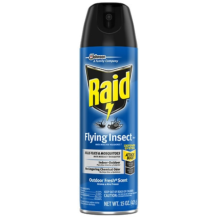 Raid Flying Insect Killer Formula 6 Spray Outdoor Fresh