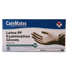 CareMates Latex-Powder Free Examination Gloves