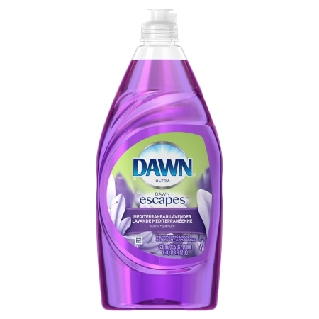 Dawn Escapes Dishwashing Liquid Mediterranean Lavender