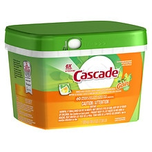 Cascade ActionPacs with Gain Dishwasher Detergent Original