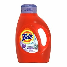 HE Liquid Laundry Detergent with Febreze Freshness, 30 LoadsSpring & Renewal