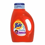 Tide Liquid Laundry Detergent with Touch of Downy, 24 Loads Lavender