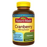 Nature Made Super Strength Cranberry 450mg Extract, Softgels