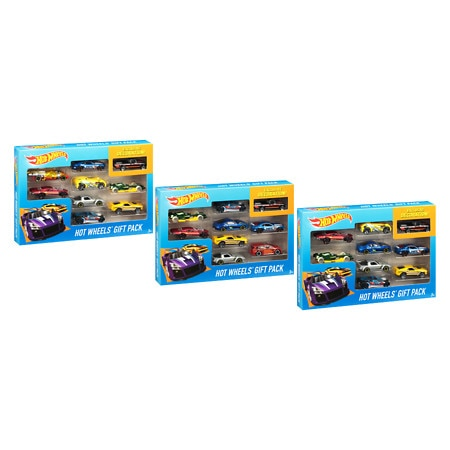 Hot Wheels 9-Car Pack Assortment