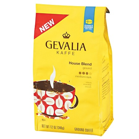 Gevalia Kaffee Ground Coffee House Blend Roast