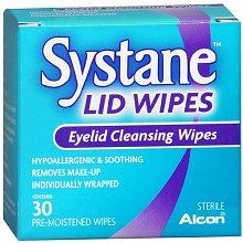 Systane Lid Wipes Eyelid Cleansing Wipes