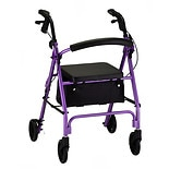 Vibe Rolling Walker with 6-inch Wheels 4236PLPurple