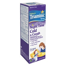 Children's Nighttime Cold & Cough Syrup Grape