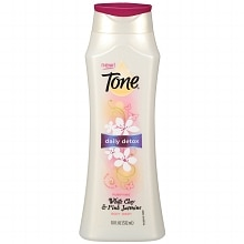 Tone Daily Detox Purifying Body Wash White Clay and Pink Jasmine White Clay & Pink Jasmine