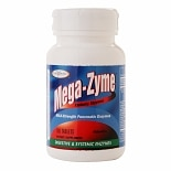 Enzymatic Therapy Mega-Zyme Systemic Enzymes, Tablets