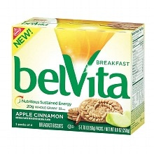 belVita Breakfast Biscuits Apple Cinnamon Breakfast Biscuits