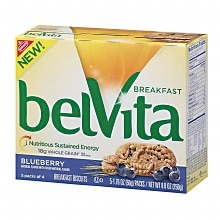 belVita Breakfast Biscuits Blueberry