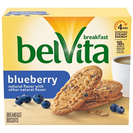 belVita Breakfast Biscuits Blueberry,5 pk