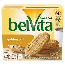Breakfast Biscuits 5 Pack, Golden Oat