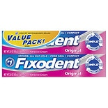 Fixodent Denture Adhesive Cream 2 Pack