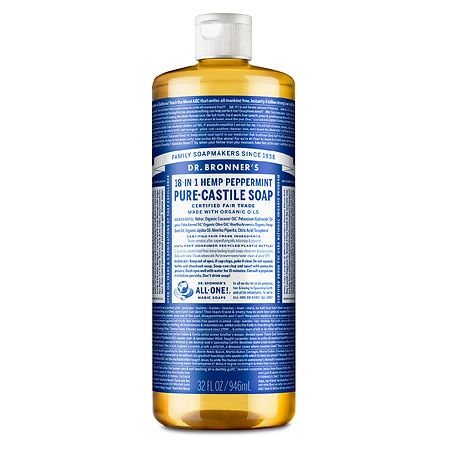 Dr. Bronner's Hemp Pure-Castile Soap Peppermint