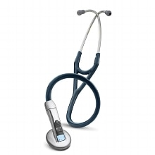 Littmann 3100 Electronic Series Stethoscope, 27 Inch Navy Blue - Model 3100NB