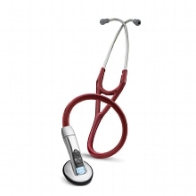 Littmann 3200 Electronic Series Stethoscope, 27 Inch Burgundy - Model 3200BU