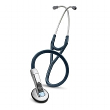 Littmann 3200 Electronic Series Stethoscope, 27 Inch Navy Blue - Model 3200NB