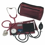 Mabis MatchMates Littmann Lightweight II SE Combination Kit Burgundy