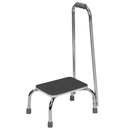 Mabis Foot Stool with Support Handle