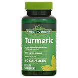 Finest Nutrition Turmeric 450 mg Dietary Supplement Capsules