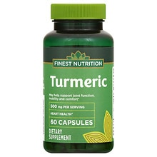 Finest Nutrition Turmeric 450mg, Capsules