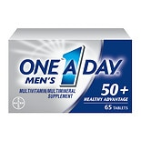 One A Day Men's 50+ Advantage Complete Multivitamin/Multimineral Supplement Tablets