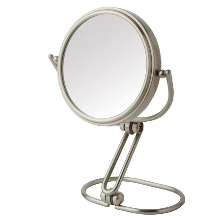 jerdon folding travel mirror 15x magnification 3 inch diameter. Black Bedroom Furniture Sets. Home Design Ideas