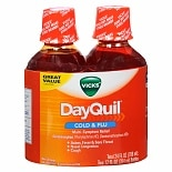 Vicks Dayquil Cold & Flu Liquid Twin Pack