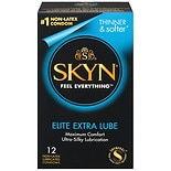 LifeStyles Skyn Non-Latex Condoms, Extra Lubricated