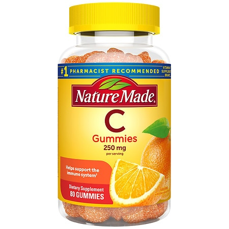 Nature Made Vitamin C Adult Gummies Orange
