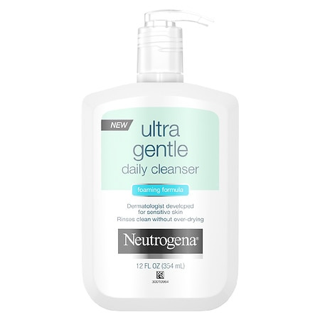Neutrogena Ultra Gentle Foaming Daily Cleanser