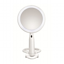 Conair Reflect Urban 1x/3x Magnification Beauty Mirror, BE52LED-2P