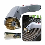 Cordless Motorized Outdoor Grill Cleaning Brush