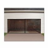 Trademark Tools 2 Car Garage Screen Enclosure Door